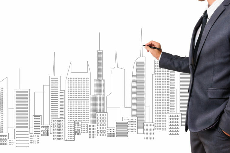 Drawing the types of commercial property