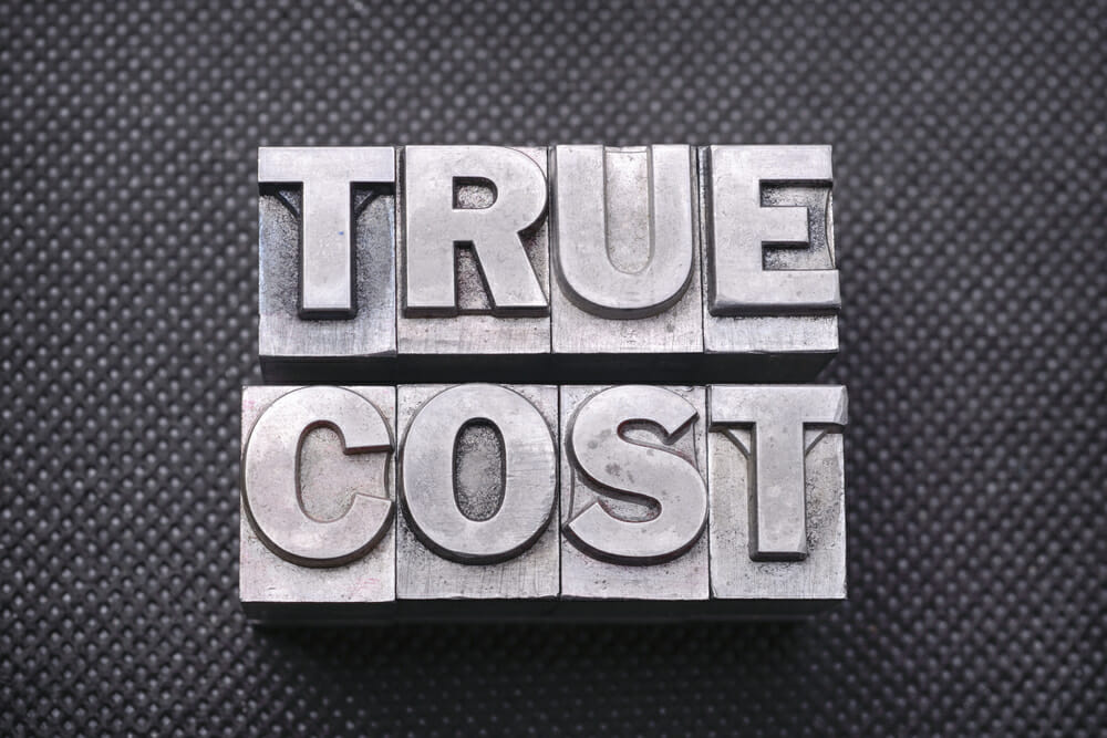 true cost of commercial office space