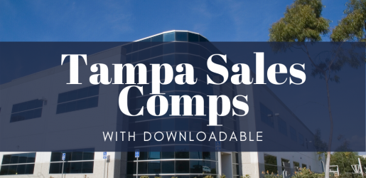 Tampa Office Sales Comps