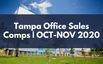 Tampa Office Sales Comps October - November 2020 by John MIlsaps